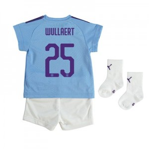 Manchester City Cup Home Baby Kit 2019-20 with Wullaert 25 printing