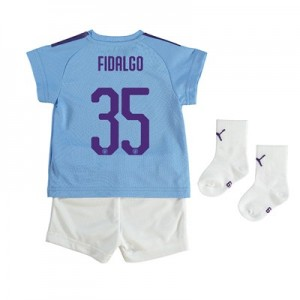 Manchester City Cup Home Baby Kit 2019-20 with FIDALGO 35 printing