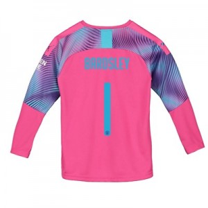Manchester City Cup Away Goalkeeper Shirt 2019-20 - Kids with Bardsley 1 printing