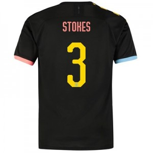 Manchester City Cup Authentic Away Shirt 2019-20 with Stokes 3 printing
