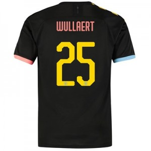 Manchester City Cup Authentic Away Shirt 2019-20 with Wullaert 25 printing
