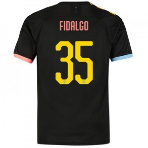 Manchester City Cup Authentic Away Shirt 2019-20 with FIDALGO 35 printing