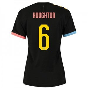 Manchester City Cup Authentic Away Shirt 2019-20 - Womens with Houghton 6 printing
