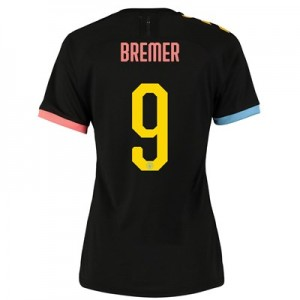 Manchester City Cup Authentic Away Shirt 2019-20 - Womens with Bremer 9 printing