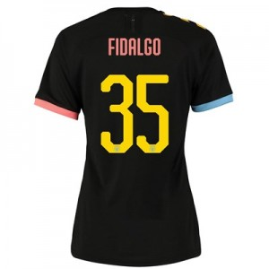 Manchester City Cup Authentic Away Shirt 2019-20 - Womens with FIDALGO 35 printing