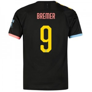 Manchester City Cup Away Shirt 2019-20 with Bremer 9 printing