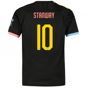 Manchester City Cup Away Shirt 2019-20 with Stanway 10 printing