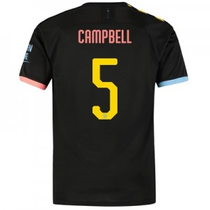 Manchester City Cup Away Shirt 2019-20 with Campbell 5 printing