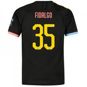 Manchester City Cup Away Shirt 2019-20 with FIDALGO 35 printing
