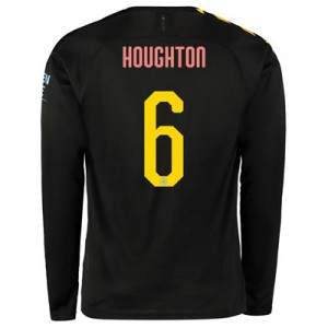 Manchester City Cup Away Shirt 2019-20 - Long Sleeve with Houghton 6 printing