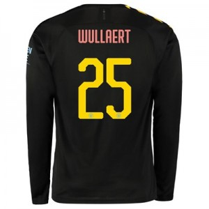Manchester City Cup Away Shirt 2019-20 - Long Sleeve with Wullaert 25 printing