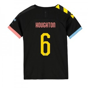 Manchester City Cup Away Shirt 2019-20 - Kids with Houghton 6 printing