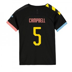 Manchester City Cup Away Shirt 2019-20 - Kids with Campbell 5 printing