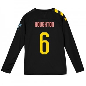 Manchester City Cup Away Shirt 2019-20 - Long Sleeve - Kids with Houghton 6 printing
