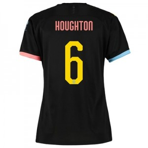 Manchester City Cup Away Shirt 2019-20 - Womens with Houghton 6 printing