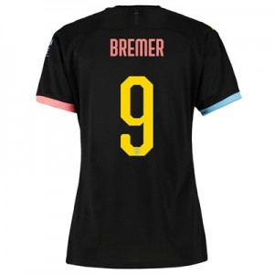 Manchester City Cup Away Shirt 2019-20 - Womens with Bremer 9 printing
