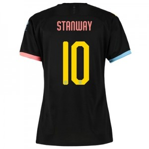 Manchester City Cup Away Shirt 2019-20 - Womens with Stanway 10 printing