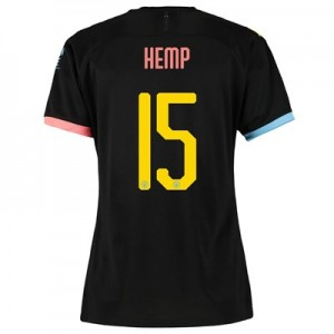 Manchester City Cup Away Shirt 2019-20 - Womens with Hemp 15 printing