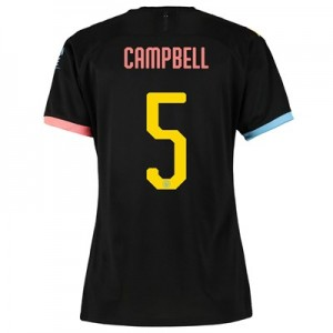 Manchester City Cup Away Shirt 2019-20 - Womens with Campbell 5 printing