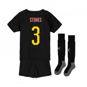 Manchester City Cup Away Mini Kit 2019-20 with Stokes 3 printing