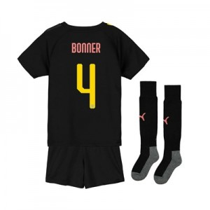 Manchester City Cup Away Mini Kit 2019-20 with Bonner 4 printing