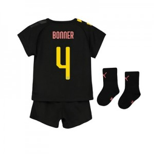 Manchester City Cup Away Baby Kit 2019-20 with Bonner 4 printing