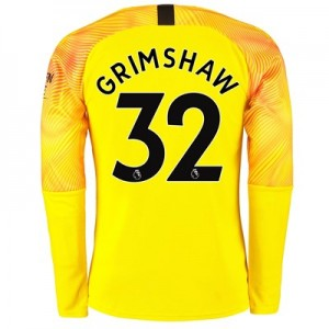 Manchester City Third Goalkeeper Shirt 2019-20 with Grimshaw 32 printing