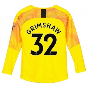 Manchester City Third Goalkeeper Shirt 2019-20 - Kids with Grimshaw 32 printing