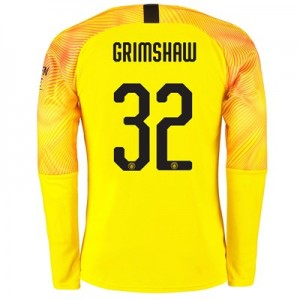 Manchester City Cup Third Goalkeeper Shirt 2019-20 with Grimshaw 32 printing