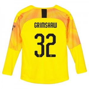 Manchester City Cup Third Goalkeeper Shirt 2019-20 - Kids with Grimshaw 32 printing