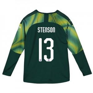 Manchester City Cup Home Goalkeeper Shirt 2019-20 - Kids with Stenson 13 printing
