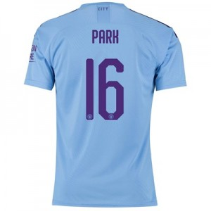 Manchester City Cup Authentic Home Shirt 2019-20 with Park 16 printing