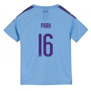 Manchester City Cup Home Shirt 2019-20 - Kids with Park 16 printing