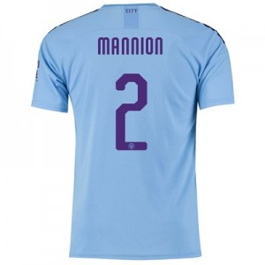Manchester City Cup Home Shirt 2019-20 with Mannion 2 printing