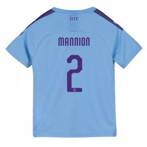 Manchester City Cup Home Shirt 2019-20 - Kids with Mannion 2 printing