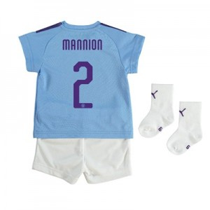 Manchester City Cup Home Baby Kit 2019-20 with Mannion 2 printing