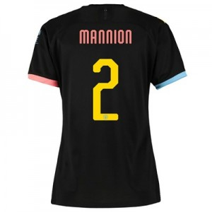 Manchester City Cup Away Shirt 2019-20 - Womens with Mannion 2 printing