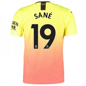 Manchester City Authentic Third Shirt 2019-20 with Sané 19 printing