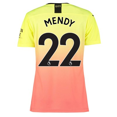 Manchester City Authentic Third Shirt 2019-20 - Womens with Mendy 22 printing