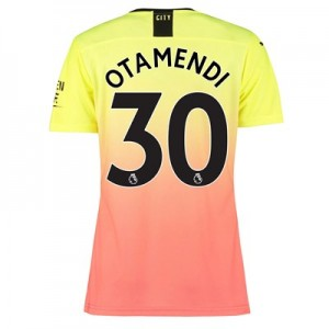 Manchester City Authentic Third Shirt 2019-20 - Womens with Otamendi 30 printing