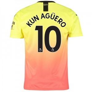 Manchester City Third Shirt 2019-20 with Kun Agüero  10 printing
