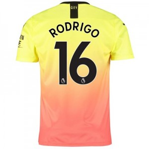 Manchester City Third Shirt 2019-20 with Rodrigo 16 printing