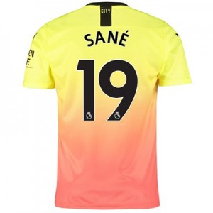 Manchester City Third Shirt 2019-20 with Sané 19 printing