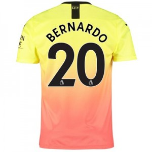 Manchester City Third Shirt 2019-20 with Bernardo 20 printing