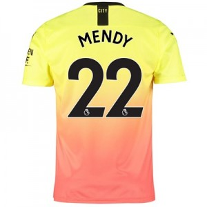 Manchester City Third Shirt 2019-20 with Mendy 22 printing