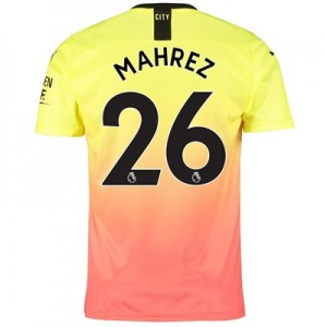 Manchester City Third Shirt 2019-20 with Mahrez 26 printing