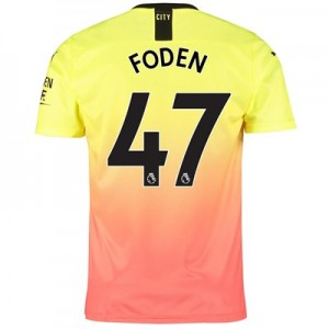 Manchester City Third Shirt 2019-20 with Foden 47 printing