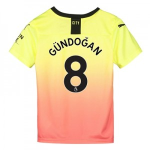 Manchester City Third Shirt 2019-20 - Kids with Gündogan 8 printing