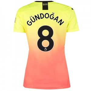 Manchester City Third Shirt 2019-20 - Womens with Gündogan 8 printing