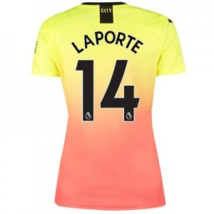Manchester City Third Shirt 2019-20 - Womens with Laporte 14 printing